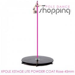 Podium de Pole Dance Xpole Xstage Lite Powder Coat Rose 45mm