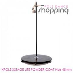 Podium de Pole Dance Xpole Xstage Powder Coat Noir 45mm