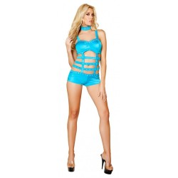 Body Monokini Lacets Strass Roma