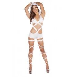 Body Monokini Strass avec capuche amovible Roma