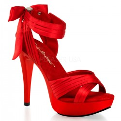 High Heels Sandals Fabulicious COCKTAIL-568 Red