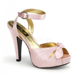 Plateau Scarpe Pin Up Couture BETTIE-04 Rosa