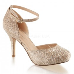 Zapatos Tacones Altos Pleaser COVET-03 Or