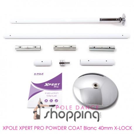 Xpole Xpert Pro Powder Coat White 40mm X-LOCK