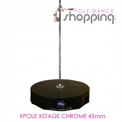 Podium de Pole Dance Xpole Xstage Chrome 45mm