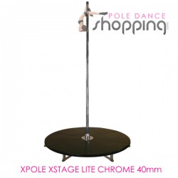 Podium de Pole Dance Xpole Xstage Lite Chrome 40mm