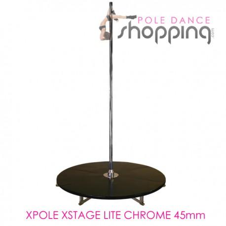 Podium de Pole Dance Xpole Xstage Lite Chrome 45mm