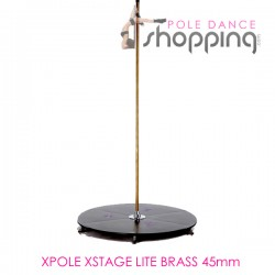 Podium de Pole Dance Xpole Xstage Lite Brass 45mm