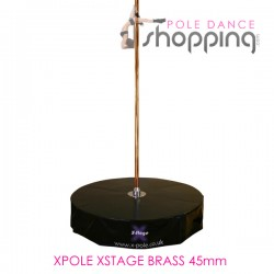 Podium de Pole Dance Xpole Xstage Brass 45mm