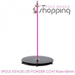Podium de Pole Dance Xpole Xstage Lite Powder Coat Rose 45mm