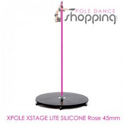 Podium de Pole Dance Xpole Xstage Lite Silicone Rose 45mm