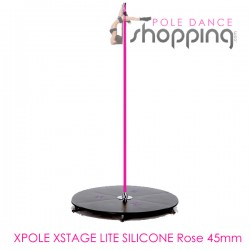 Podium de Pole Dance Xpole Xstage Lite Silicone Rose 45mm