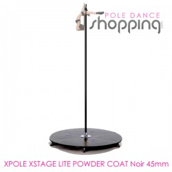 Podium de Pole Dance Xpole Xstage Lite Powder Coat Noir 45mm