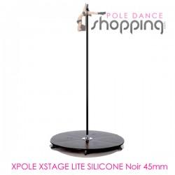 Podium de Pole Dance Xpole Xstage Lite Silicone Noir 45mm