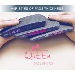 Mousse de protection pour genouillères Queen Accessories