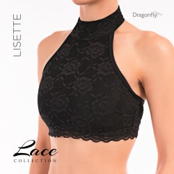 Top Lisette Dentelle Dragon Fly Noir