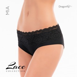 Short Mia Dentelle Dragon Fly Black