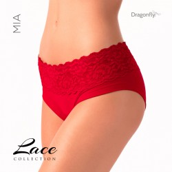 Short Mia Dentelle Dragon Fly Rouge