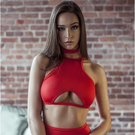 Top 007 Vertical Fit Red