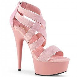 Platforms Sandals Pleaser DELIGHT-669 Pink
