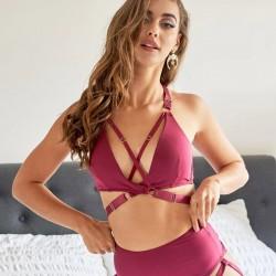 Top Amber Luna Polewear Bordeaux