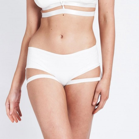 Short Lure You Luna Polewear White