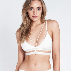 Top Bella Luna Polewear White