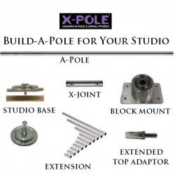 4 x XPole Pro 2 Pieces: 3x CR45 3.66 + 1x ST45 3.66
