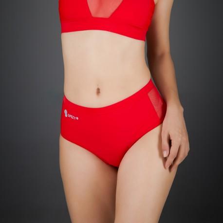 Short Mesh Spizy Active Wear Rojo