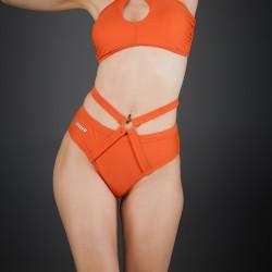 Short Line Spizy Active Wear Arancione