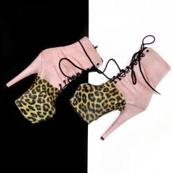 Proteggi scarpe Leopard