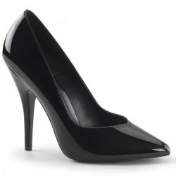 Zapatos Tacones Altos Pleaser SEDUCE-420V Negro barniz