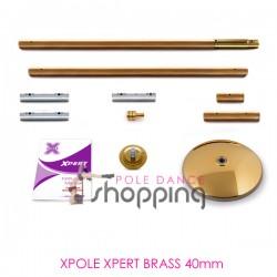 Barre de Pole Dance Xpole Xpert Brass 40mm