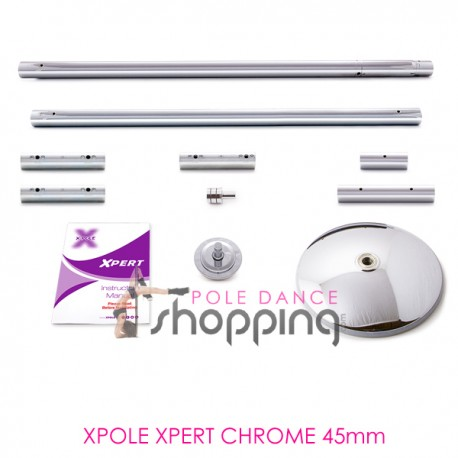 Barre de Pole Dance Xpole Xpert Chrome 45mm