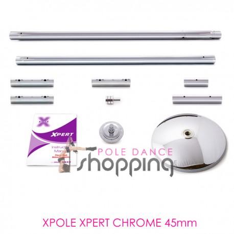 Barre de Pole Dance Xpole Xpert Chrome 45mm