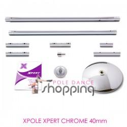Barra de Pole Dance Xpole Xpert Chrome 40mm