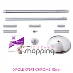 Barre de Pole Dance Xpole Xpert Chrome 40mm