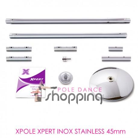 Barra de Pole Dance Xpole Xpert Inox Stainless 45mm