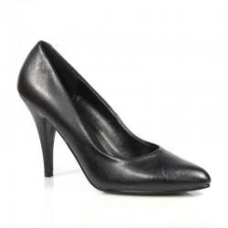 Zapatos Tacones Altos Pleaser VANITY-420L Negro cuero