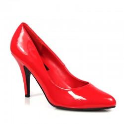 Alto Scarpe Pleaser VANITY-420 Rosso vernice