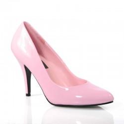 Zapatos Tacones Altos Pleaser VANITY-420 Rosa barniz