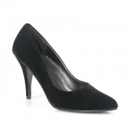 Zapatos Tacones Altos Pleaser VANITY-420 Negro terciopelo