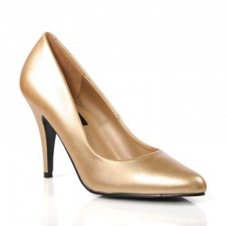 High Heels Pumps Pleaser VANITY-420 Gold