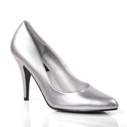 High Heels Pumps Pleaser VANITY-420 Silver
