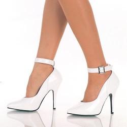 Zapatos Tacones Altos Pleaser SEDUCE-431 Blanco barniz