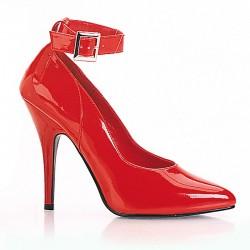 Alto Scarpe Pleaser SEDUCE-431 Rosso vernice