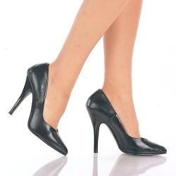 High Heels Pumps Pleaser SEDUCE-420L Black leather