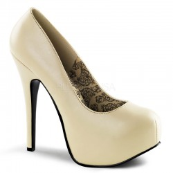 Platforms Pumps Bordello TEEZE-06 cream Leather