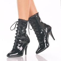 Heels Sandals Pleaser VANITY-1020 Black patent