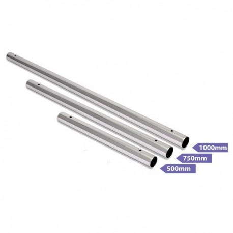 Extension Barre Xpole Chrome 500mm, 750mm ou 1000mm (Depuis 2014)